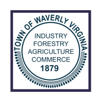 Waverly Logo With Square Border
